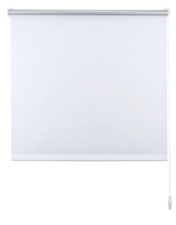 Klemmrollo Thermo in Weiß, ca. 90x210cm - Weiß, Textil (90/210cm) - Premium Living
