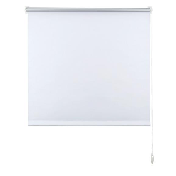 Klemmrollo Thermo in Weiß ca. 90x210cm - Weiß, Textil (90/210cm) - Premium Living