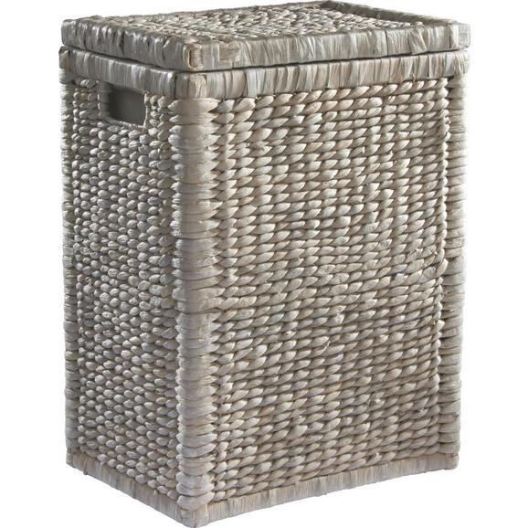Košara Za Perilo Tobi I - bela, Romantika, les/naravni materiali (36/50/26cm) - Mömax modern living