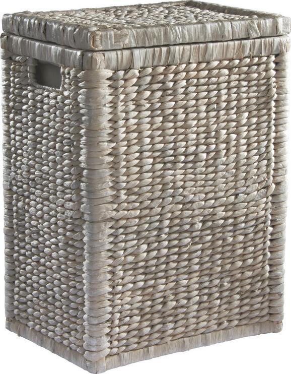 Košara Za Perilo Tobi I - bela, Romantika, ostali naravni materiali/les (36/50/26cm) - Mömax modern living