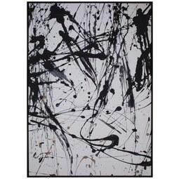 Keilrahmenbild Denise ca. 100x140cm - Schwarz/Weiß, Holz/Kunststoff (100/140cm) - Mömax modern living