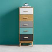 Kommode Aliona - Multicolor, MODERN, Holz (40/110/30cm) - Modern Living