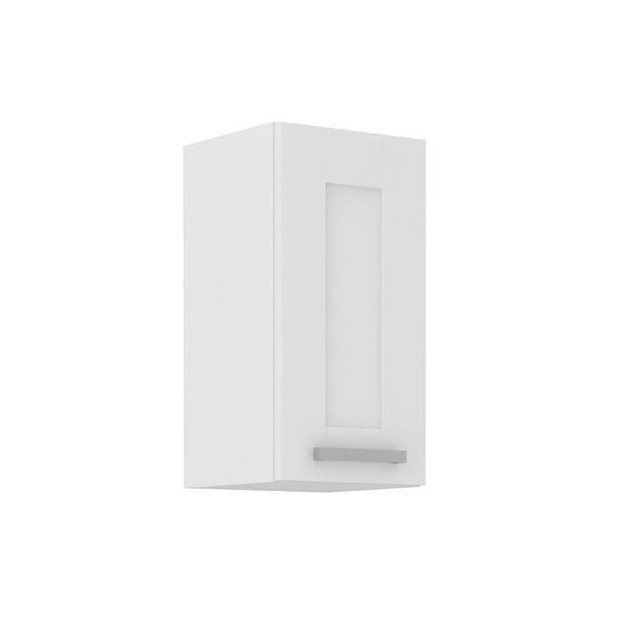 Dulap Suspendat De Bucătărie Luisa - alb, Konventionell, compozit lemnos (30/58/31cm)