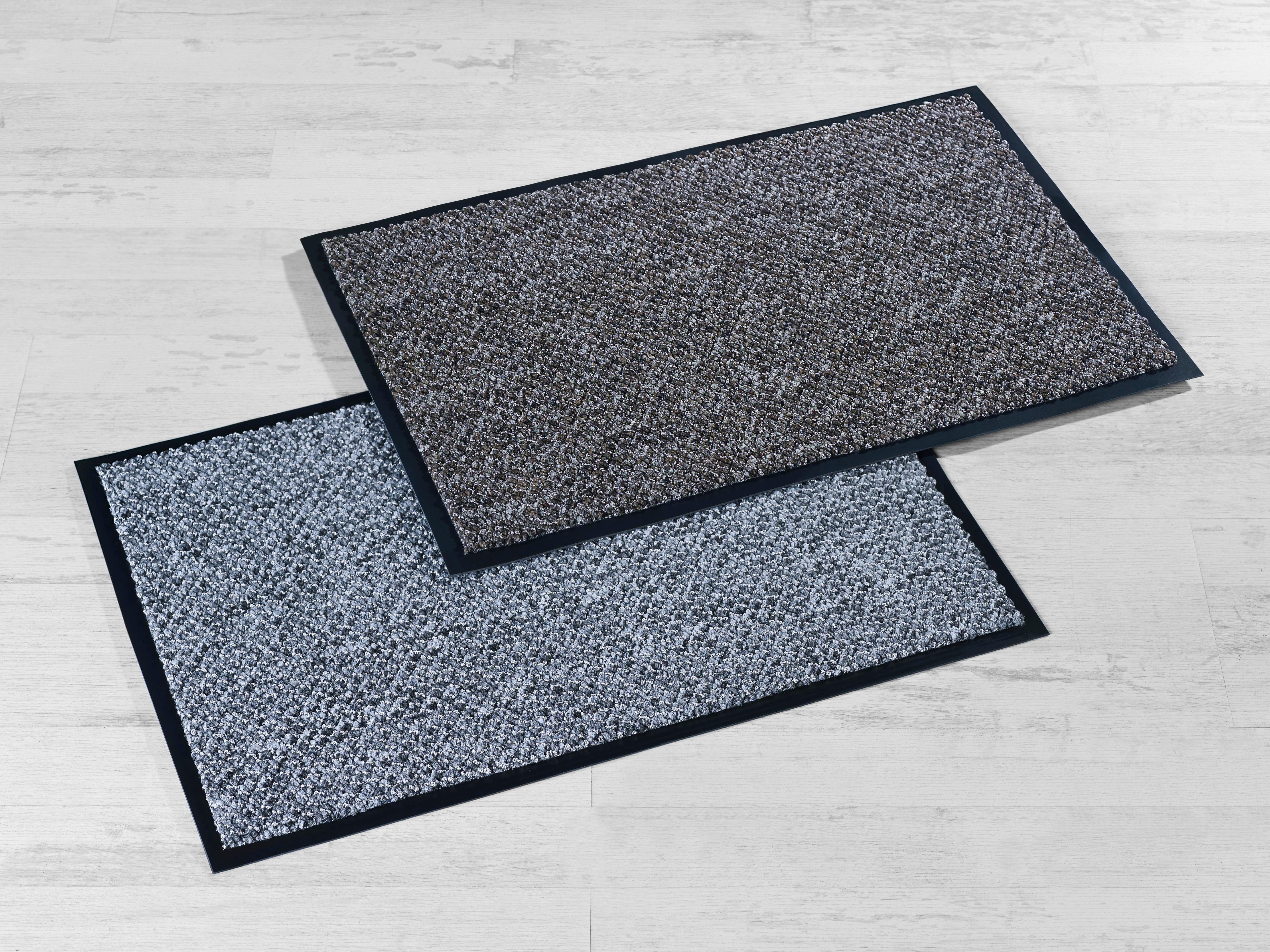 Fußmatte Nora in Grau, ca. 40x60cm - Grau, MODERN, Kunststoff (40/60cm) - MÖMAX modern living