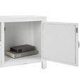 TV-Möbel Lewis Vintage - Weiß, MODERN, Holz/Metall (124/45/34cm) - Bessagi Home