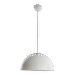 Hängeleuchte max. 60 Watt 'Marit' - Weiß, MODERN, Metall (40/120cm) - Bessagi Home