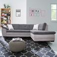 Funkcijska Sedežna Garnitura Bali New - Leva - siva/črna, Moderno, tekstil/les (290/220cm) - Mömax modern living