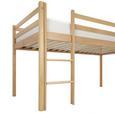Spielbett Toby - Klar, MODERN, Holz (207/218/110cm)