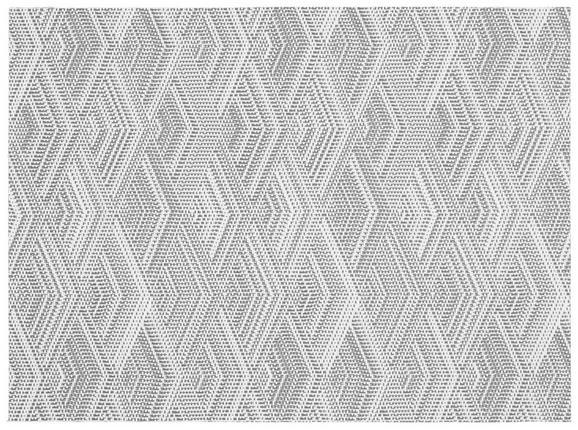 Tischset Mary Tischset - Grau, Basics, Kunststoff (33/45cm) - Mömax modern living