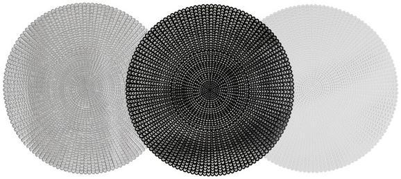 Pogrinjek Alice - črna/bela, umetna masa (41cm)