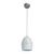 Hängeleuchte max. 42 Watt 'Bora' - Weiß, MODERN, Metall (16,5/16,5/127cm) - Bessagi Home