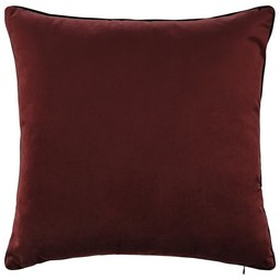 Samtkissen Malea ca.45x45cm - Rostfarben, MODERN, Textil (45/45cm) - Mömax modern living