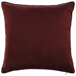 Samtzierkissen Malea ca.45x45cm - Rostfarben, MODERN, Textil (45/45cm) - Mömax modern living