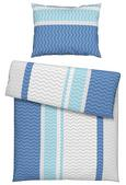 Posteljnina Kilian - petrolej/modra, Konvencionalno, tekstil (140/200cm) - Mömax modern living