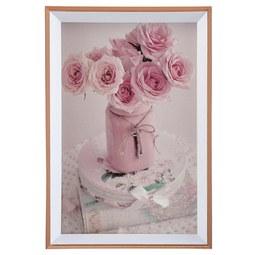 Bilderrahmen Mara Rosa - Rosa, Kunststoff (11,1/16,1/1,8cm) - Modern Living