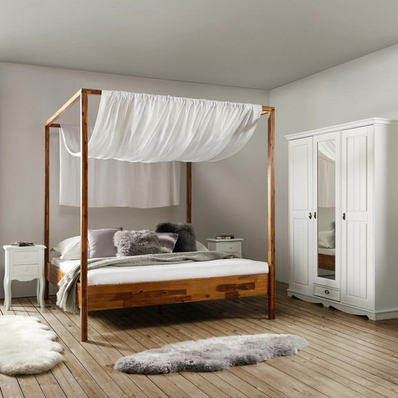 himmelbett nika 180x200cm online kaufen m max. Black Bedroom Furniture Sets. Home Design Ideas