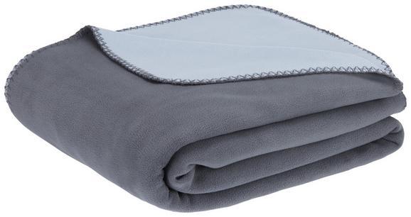 Fleecedecke Martin Wende Anthrazit/grau - Anthrazit/Grau, KONVENTIONELL, Textil (150/200cm) - Mömax modern living