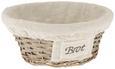 Košarica Za Kruh Bretagne - naravna, Romantika, ostali naravni materiali/tekstil (24/10cm)