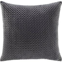 Kissen Miley 45x45cm - Grau, MODERN, Textil (45/45cm) - Modern Living