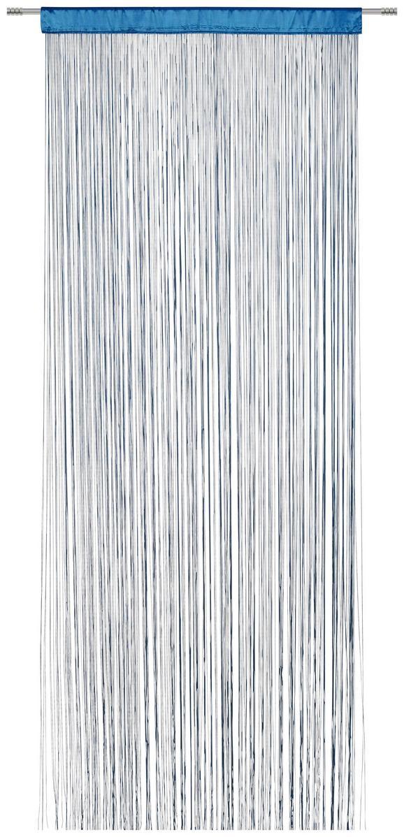 Fadenstore Victoria ca. 90x245cm - Petrol, Textil (140/245cm) - MÖMAX modern living