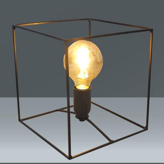 Namizna Svetilka Livia - črna, Trendi, kovina/umetna masa (20/20cm) - Mömax modern living