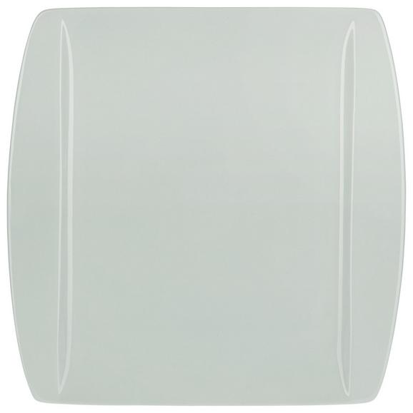 Plitvi Krožnik Pura Mint - meta zelena, Moderno, keramika (25,3/25,5cm) - Mömax modern living