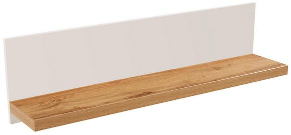 Falipolc Eleganza - Tölgyfa, modern, Faalapú anyag (135/30/21.6cm)