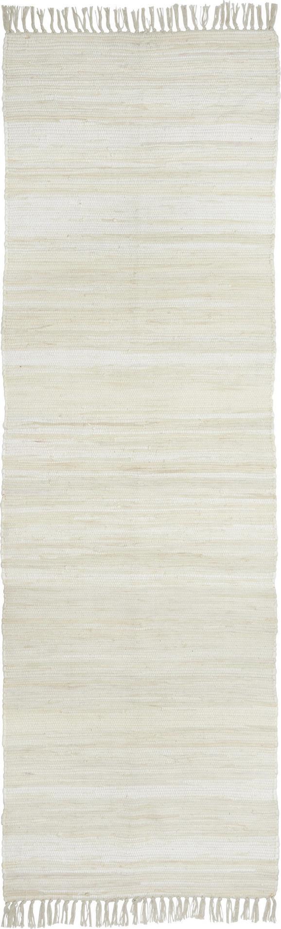 Fleckerlteppich Julia - Creme, KONVENTIONELL, Textil (70/230cm) - Mömax modern living