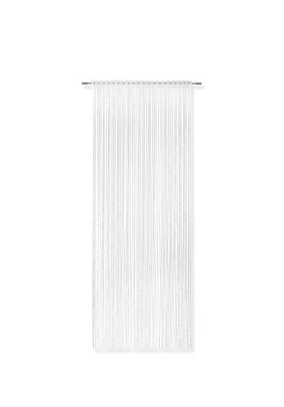 Zsinórfüggöny Tom - Fehér, romantikus/Landhaus, Textil (95/240cm) - Mömax modern living
