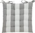 Sedežna Blazina Blockstreif - siva/bela, tekstil (40 40 cm) - Mömax modern living