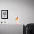 Tischleuchte Aston - Orange, MODERN, Kunststoff/Metall (13,5/19/33cm) - Bessagi Home