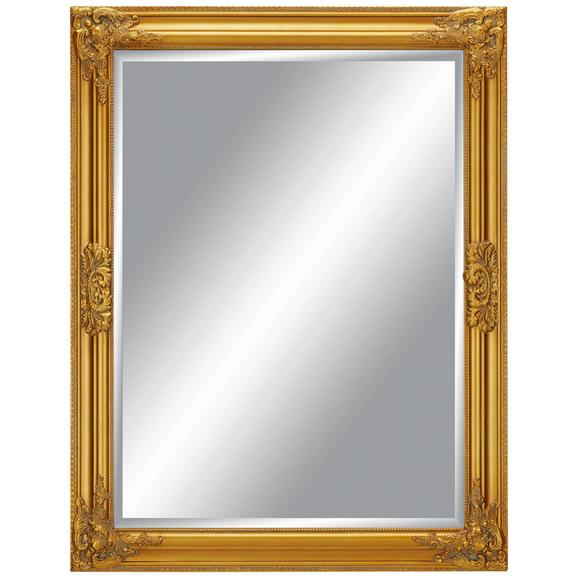 Stensko Ogledalo Barock - zlata, Moderno, steklo/les (70/90/3cm) - Mömax modern living