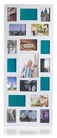 Bilderrahmen Anja, 47,5x121x1,5cm - Weiß, Holzwerkstoff (47,5/121/1,5cm) - Mömax modern living
