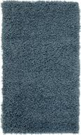 Covor Cu Fire Lungi Răsucite Primo 1 -based- -top- - Albastru, KONVENTIONELL, Material textil (60/100cm) - BASED