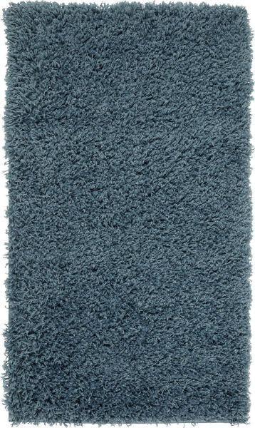Hochflorteppich Primo - Blau, KONVENTIONELL, Textil (100/150cm) - BASED
