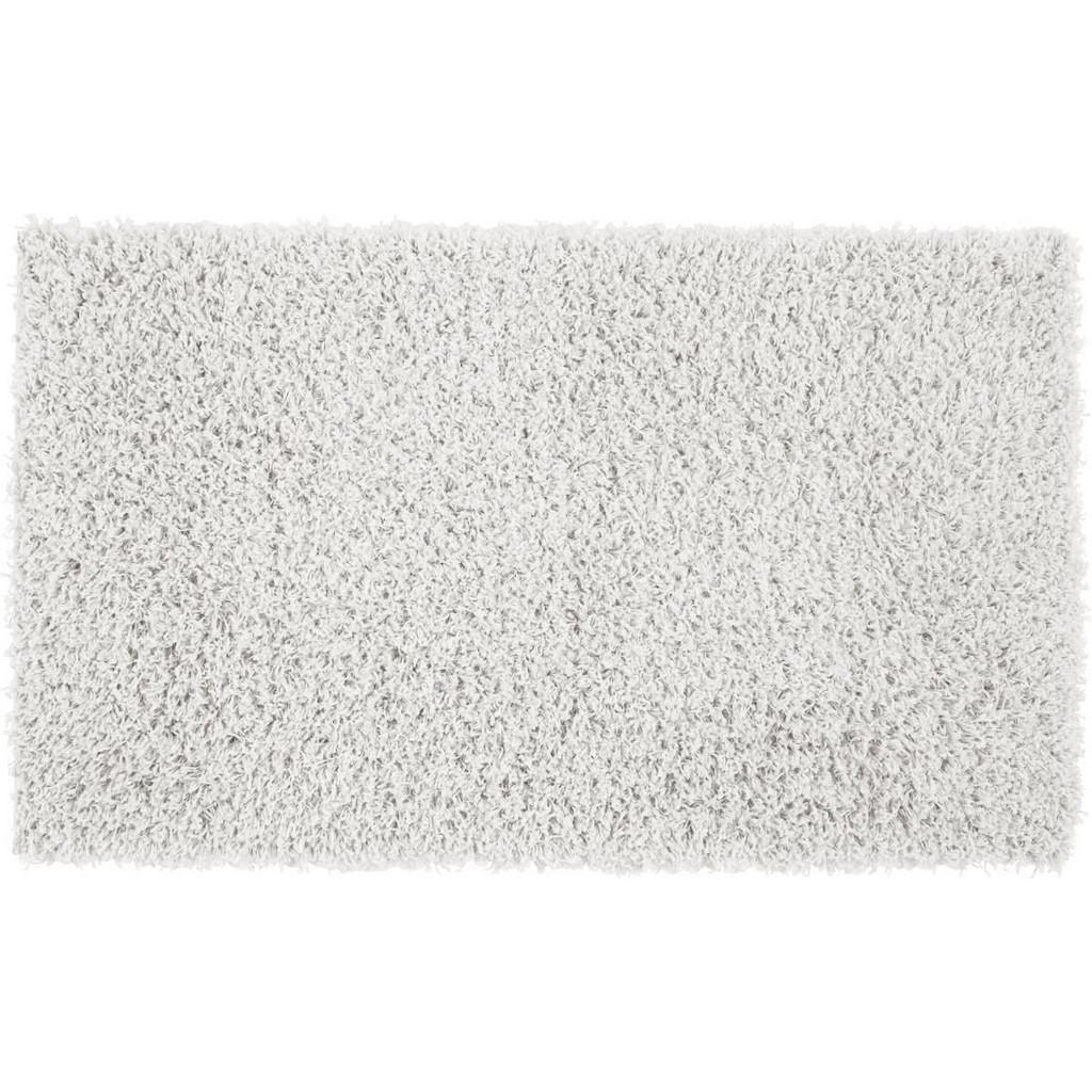 Hochflorteppich Bono in Weiß ca. 100x150cm