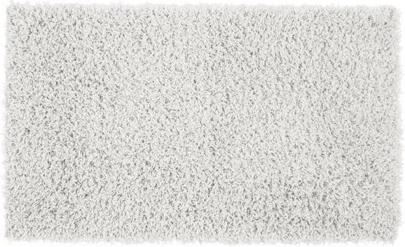 Hochflorteppich Primo, ca. 120x175cm - Hellgrau/Weiß, Textil (120/175cm) - Mömax modern living