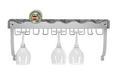 Regal Za Steklenice Noah - kovina (58/22/18cm)
