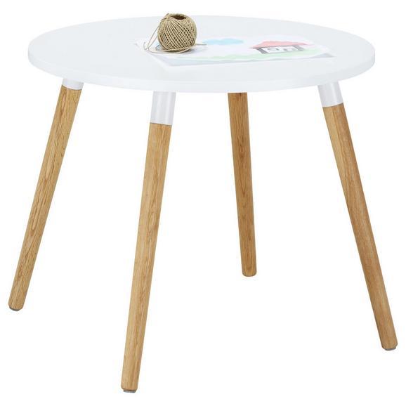 kindertisch in wei naturfarben online kaufen m max. Black Bedroom Furniture Sets. Home Design Ideas