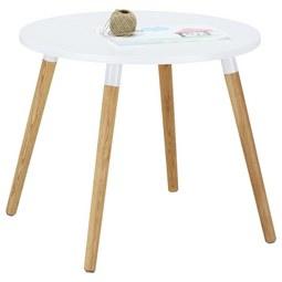 Kindertisch Weiß/Naturfarben - Eichefarben/Naturfarben, MODERN, Holz/Holzwerkstoff (60/46/60cm) - Zandiara