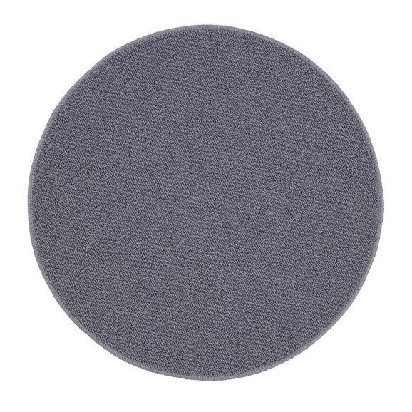 Teppich Eton in Grau Ø ca. 90cm - Grau, LIFESTYLE, Textil (90cm) - Mömax modern living