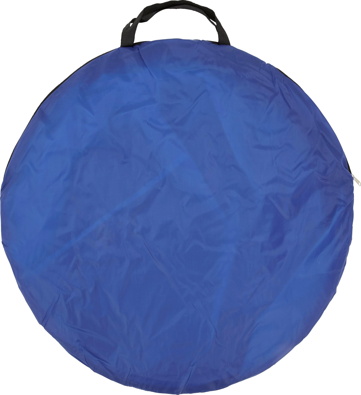 Zelt Jesolo in Blau/hellblau - Blau/Hellblau, MODERN, Textil/Metall (145/80/100cm) - MÖMAX modern living