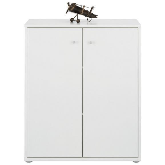 Komoda Tempra - siva/bela, Moderno, kovina/umetna masa (72/86/34cm) - Mömax modern living