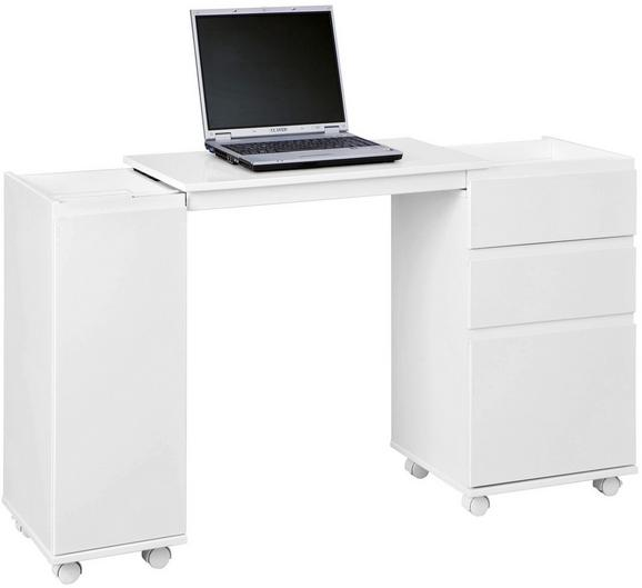 Íróasztal Laptop Office - modern (66-121/72/36,5cm)