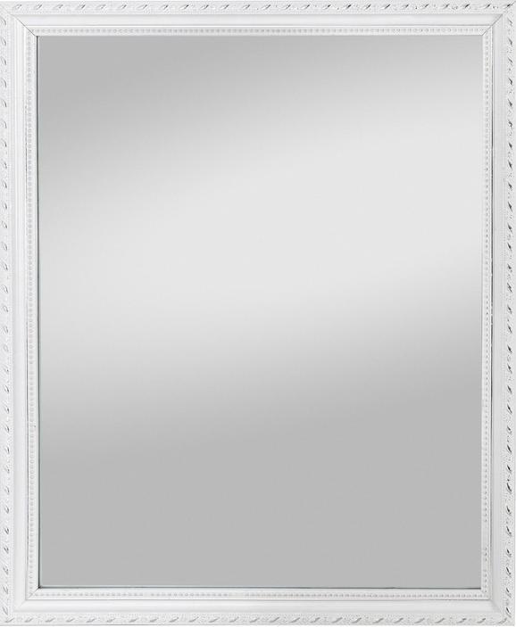 Wandspiegel in Weiß - Weiß, LIFESTYLE, Glas/Holz (40/50/2,3cm) - MÖMAX modern living