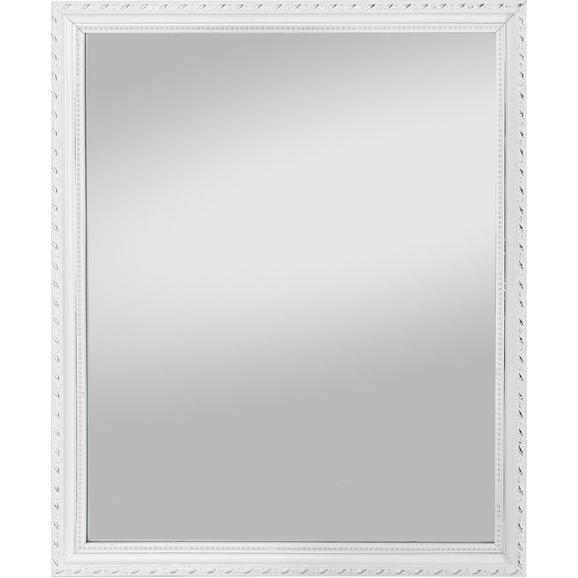 Wandspiegel Weiß - Weiß, LIFESTYLE, Glas/Holz (40/50/2,3cm) - Mömax modern living
