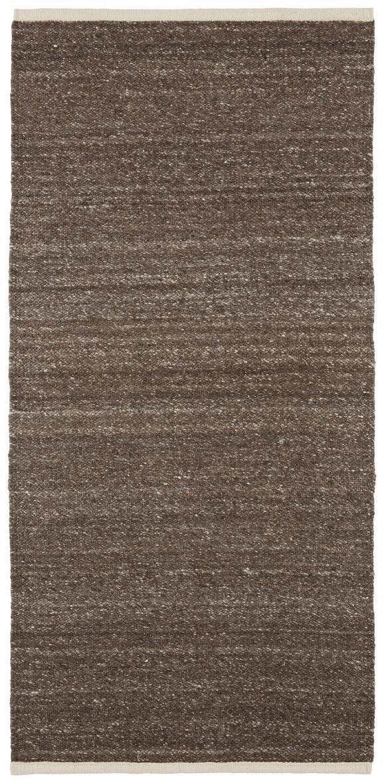 Ročno Tkana Preproga Charlie 1 - rjava, tekstil (67/130cm) - Mömax modern living