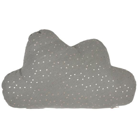Okrasna Blazina Clouds - roza/siva, tekstil (50/30cm) - Mömax modern living