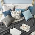 Pernă Decorativă Solid - gri, textil (40/40cm) - Mary's