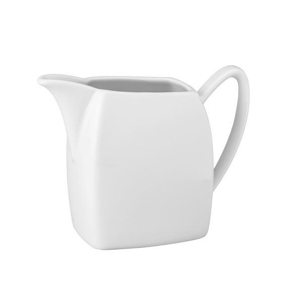 Vrček Za Mleko Opera - bela, Moderno, keramika (12,5/10/6cm) - Mömax modern living
